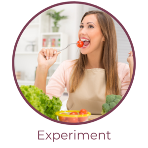 Experiment with food sensitivities