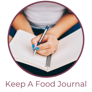 Keep a food journal for food allergies