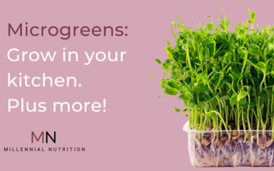 The Garden You Can Grow on Your Kitchen Counter: Microgreens