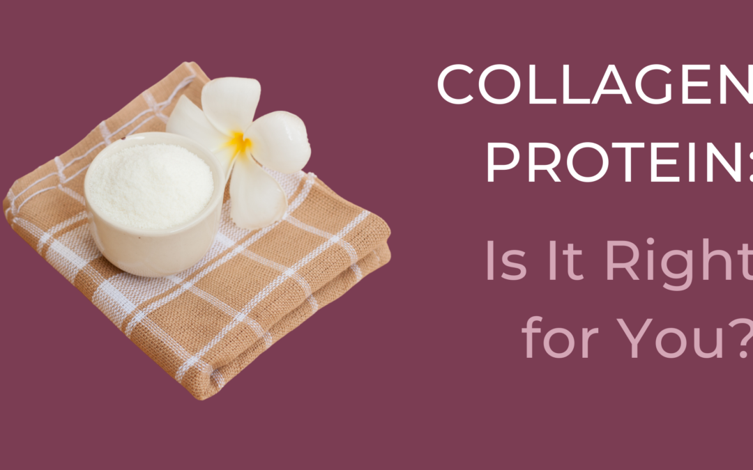 What is collagen protein